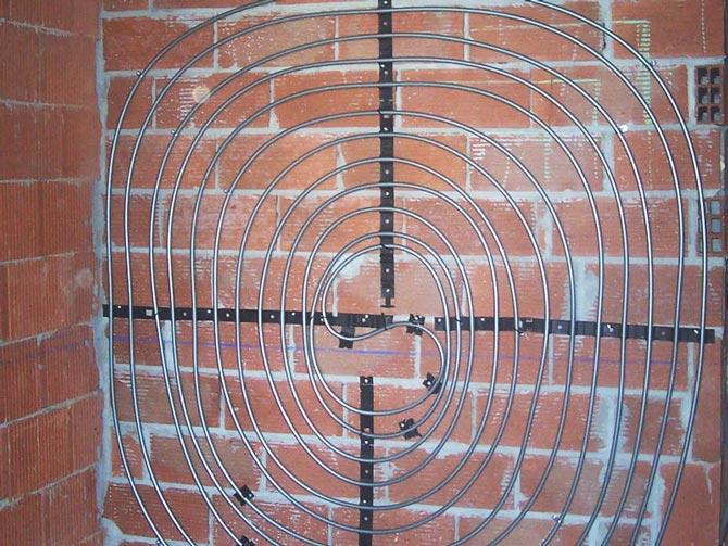 O.- Muro radiante