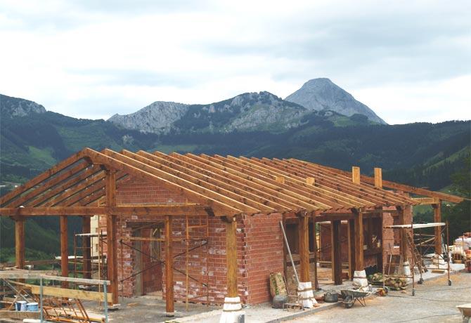 G.- Estructura de madera
